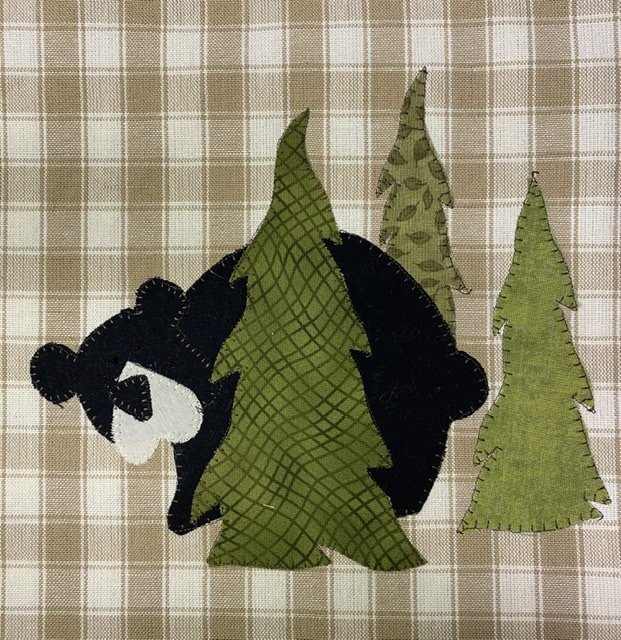 Woodland Bear PDF Pattern
