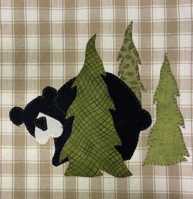 Woodland Bear PDF Pattern