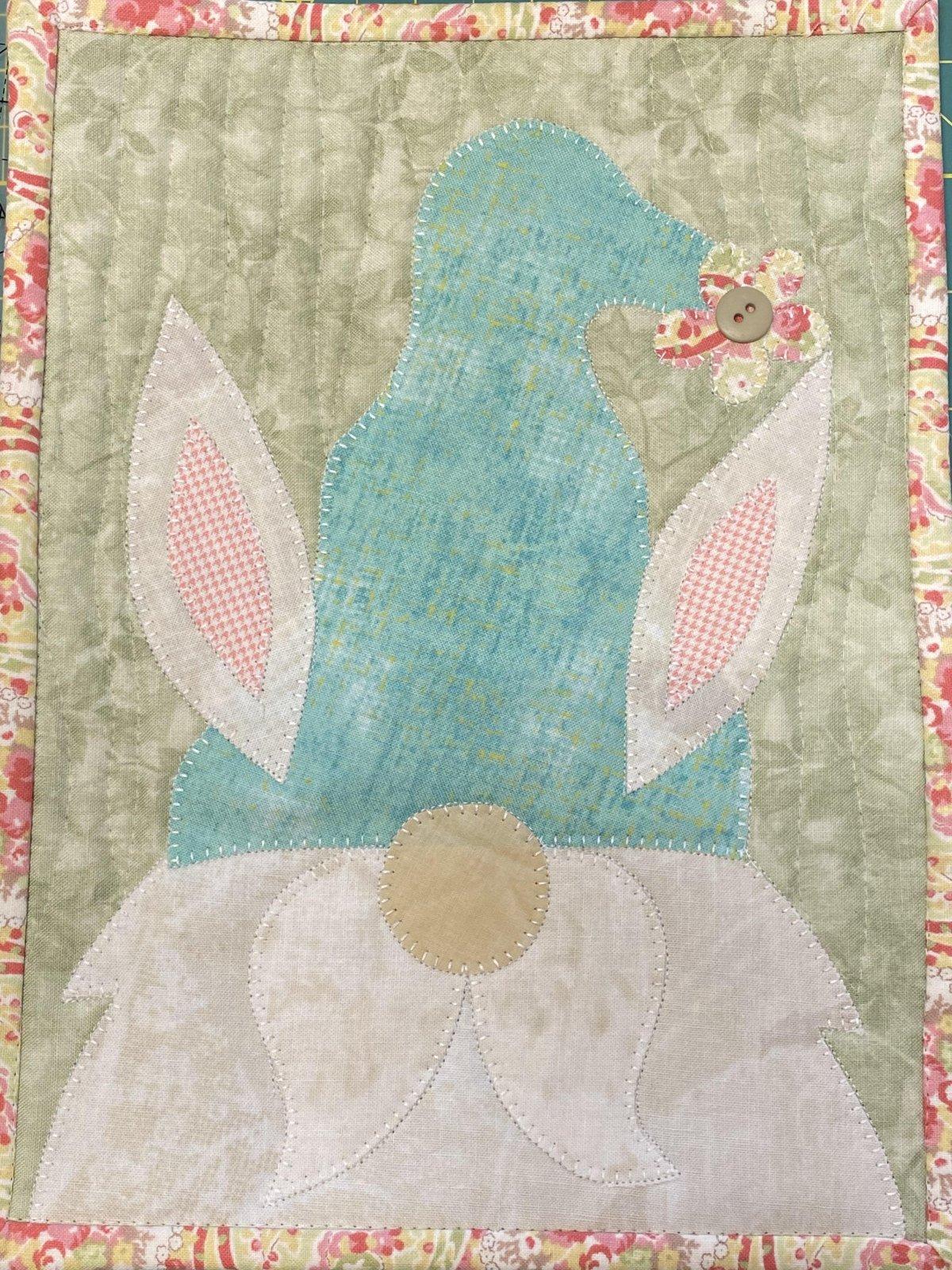 Easter Gnome Mug Rug PDF pattern