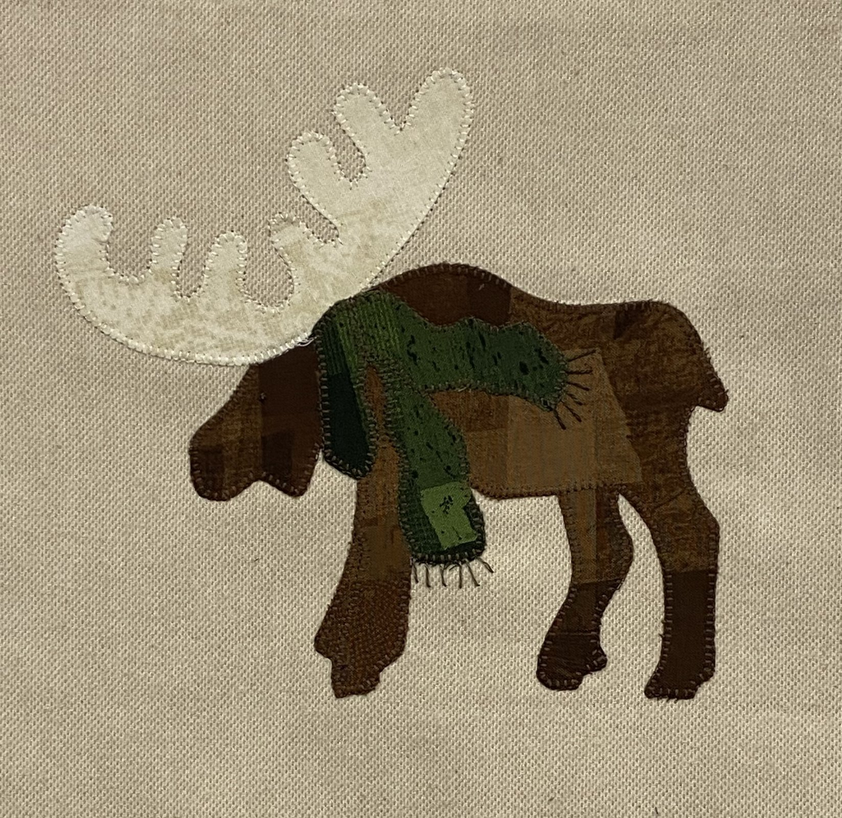 Woodland Moose- February Block 2021