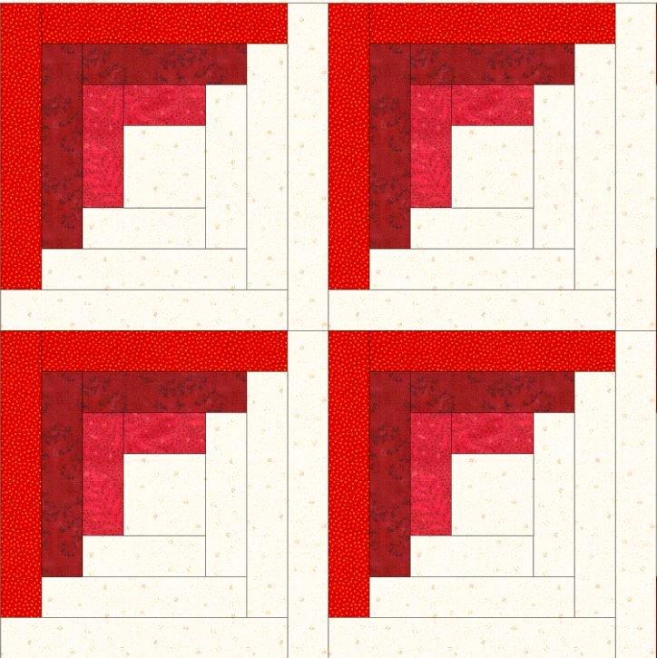 February Grandmas Attic BOM PDF Pattern