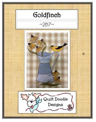 Goldfinch Packaged Pattern