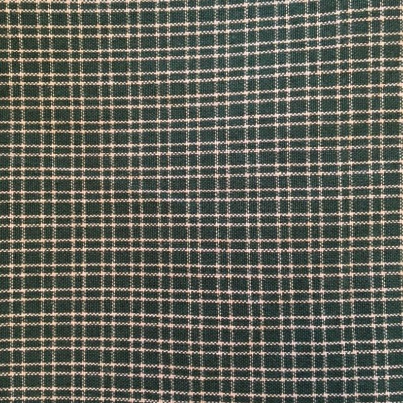 Green Plaid Tea Towel from Dunroven House #802-411