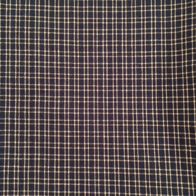 Navy Blue Plaid Tea Towel from Dunroven House #802-211