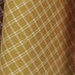 Gold Plaid Tea Towel from Dunroven House #K372-PMK