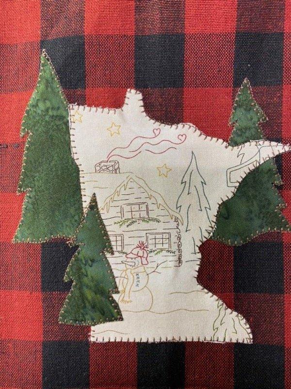 Minnesota Tea Towel PDF pattern