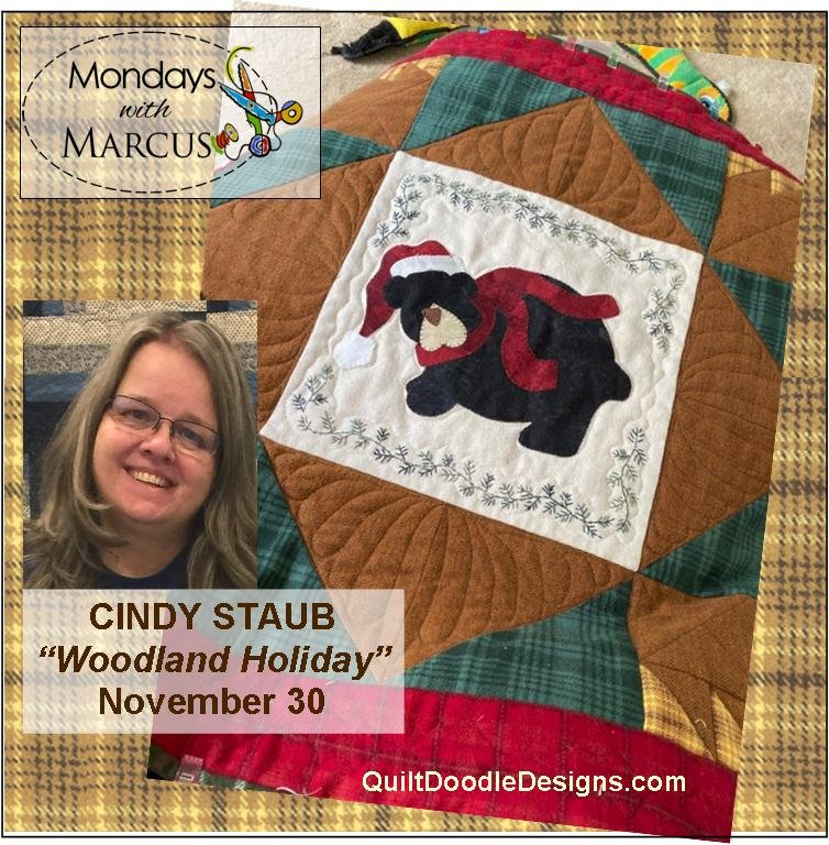 Woodland Holiday PDF Pattern Mondays with Marcus