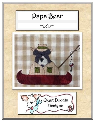 Papa Bear Packaged Pattern