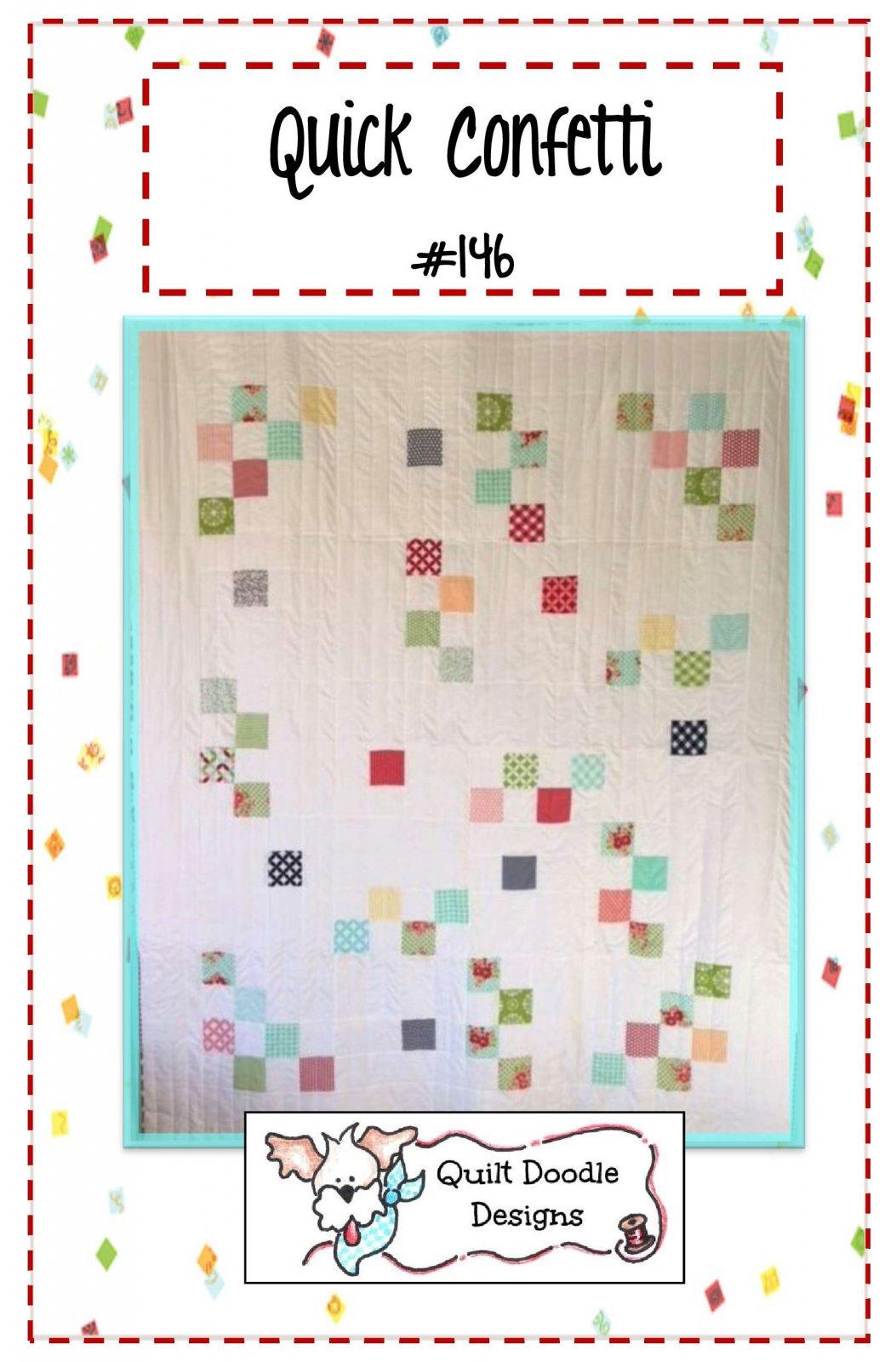Quick Confetti Quilt - PDF