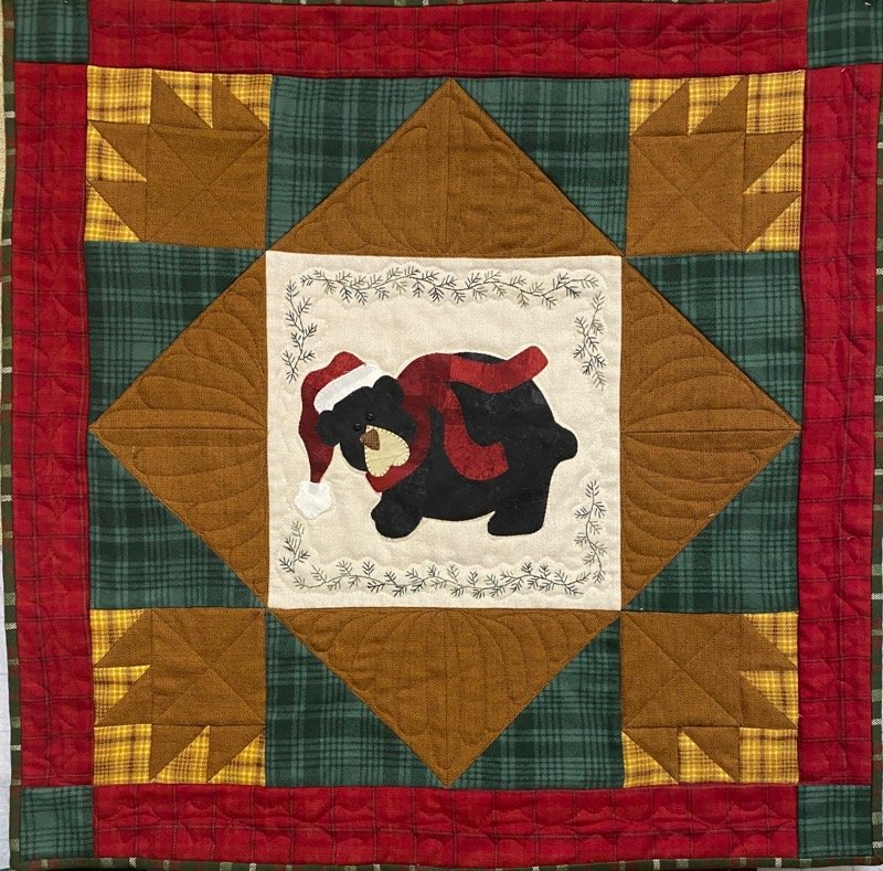 Woodland Holiday Mini Quilt Kit