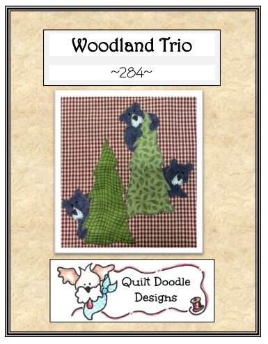 Woodland Trio Packaged Pattern