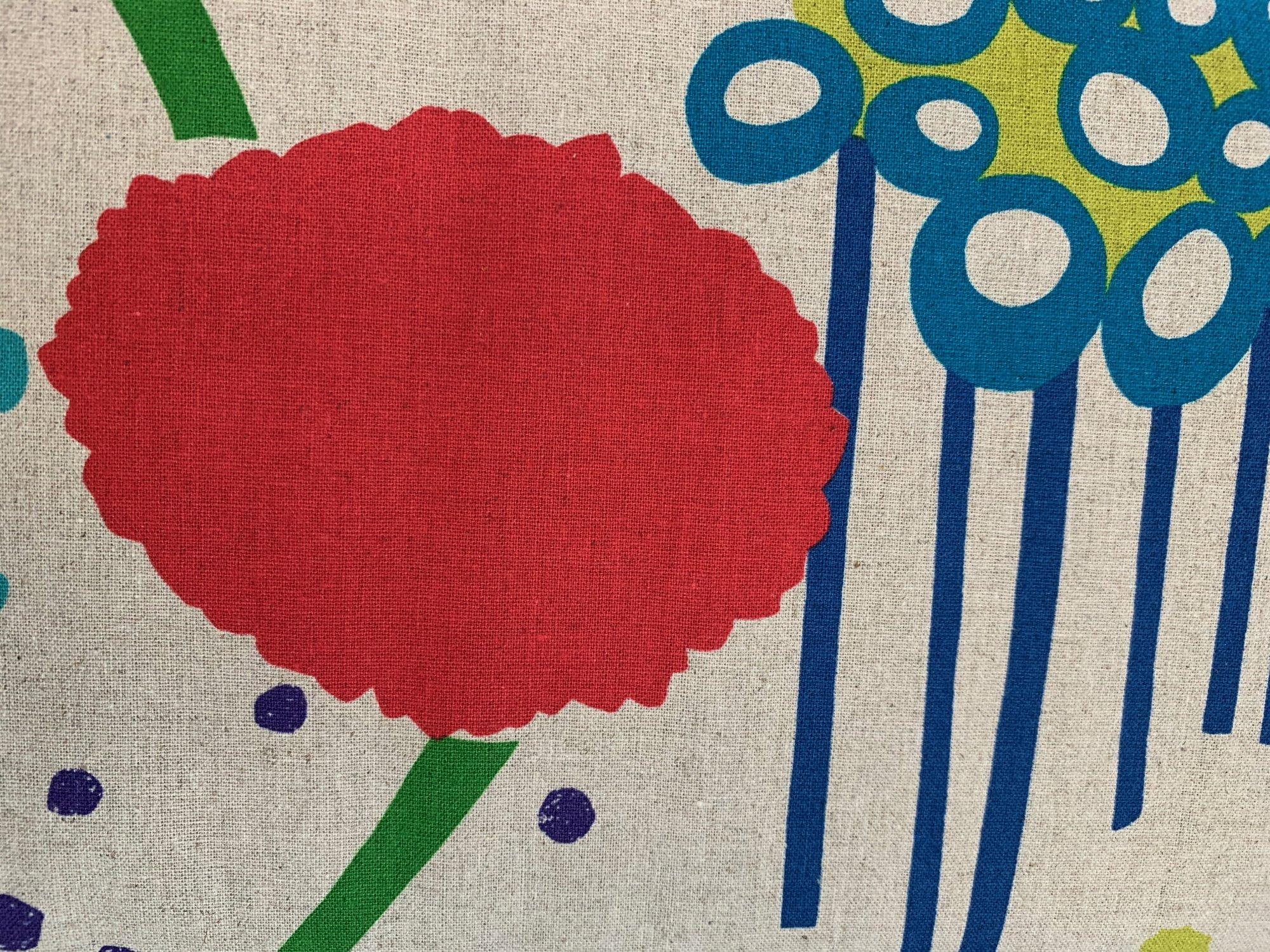 flower red/blue