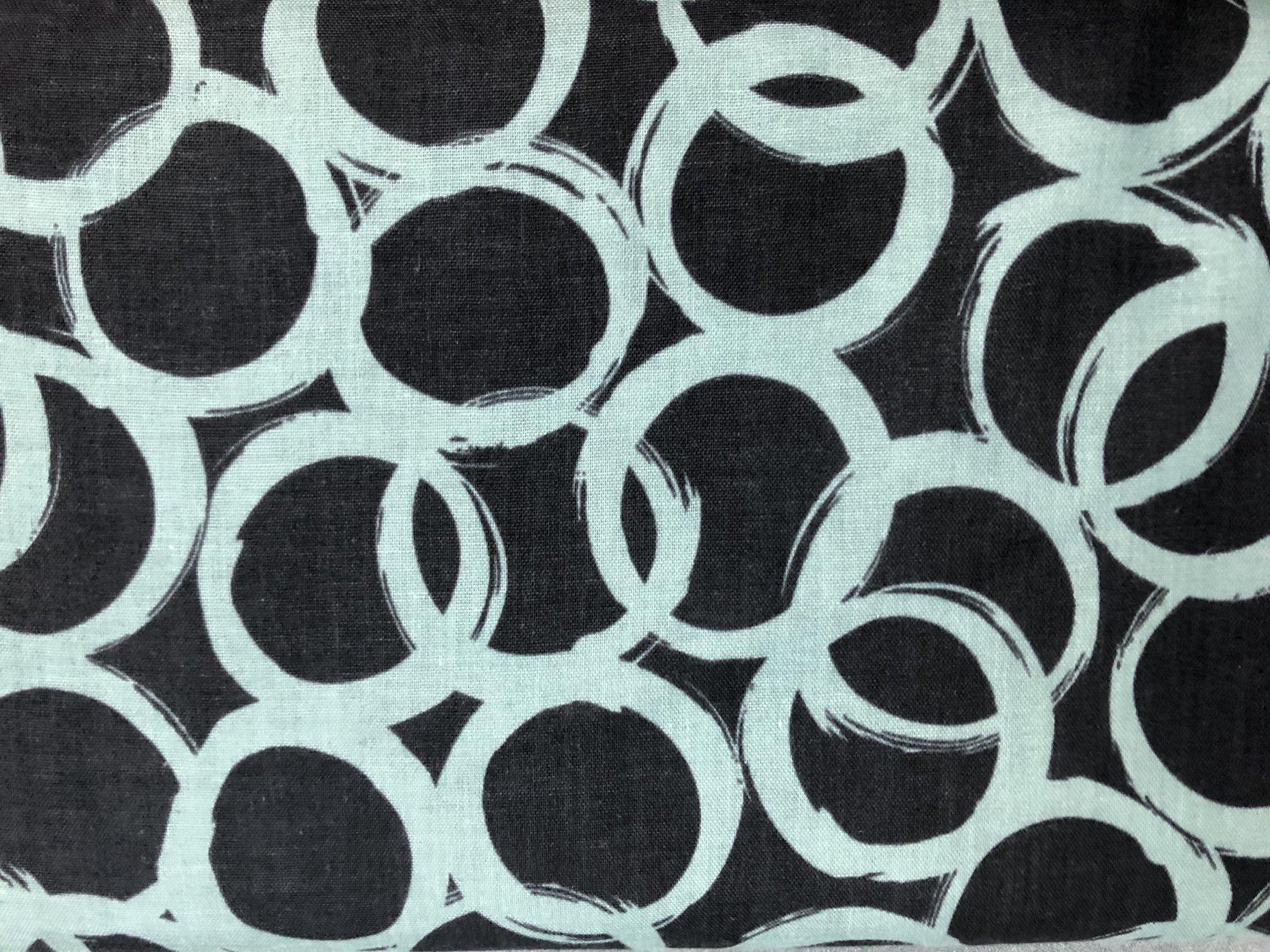 Kokka DG Black Circles