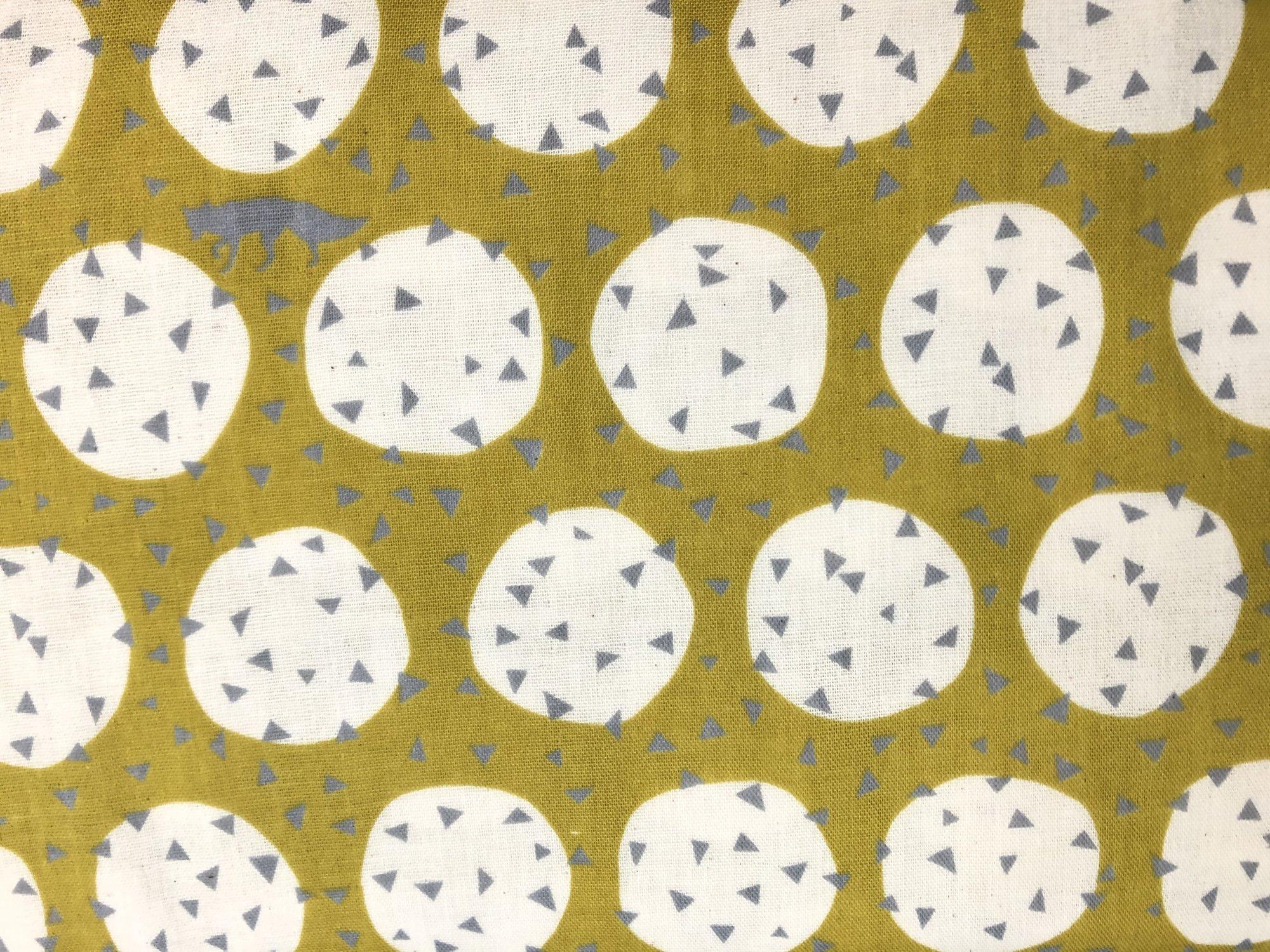 Echino DG Yellow Circles