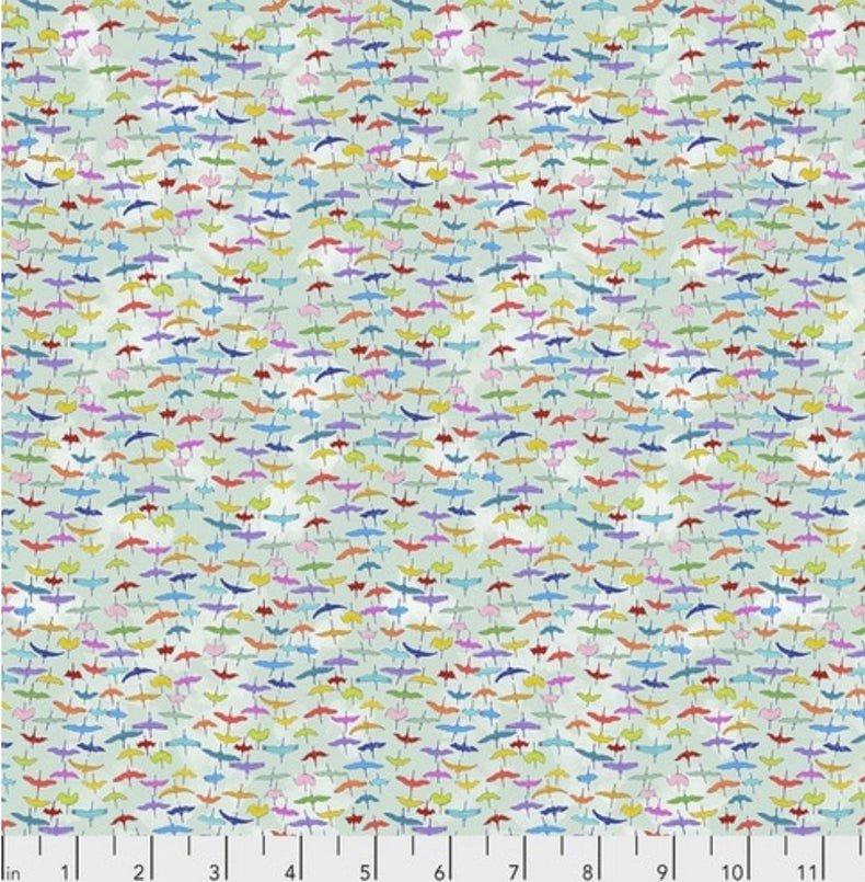 PWLT021_Siberian Cranes - Aqua