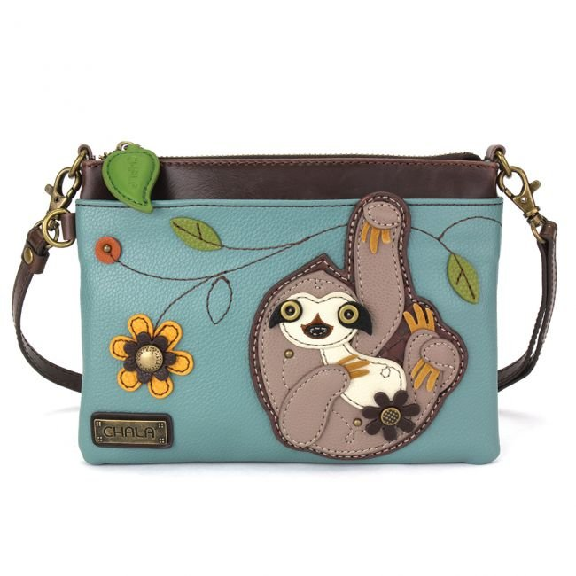Chala Mini-Crossbody Sloth