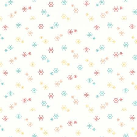 Shades Of Summer - Star Flower - Cream