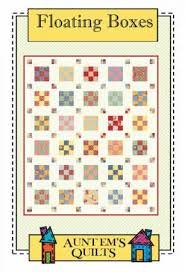 Floating Boxes - Jelly Roll Quilt