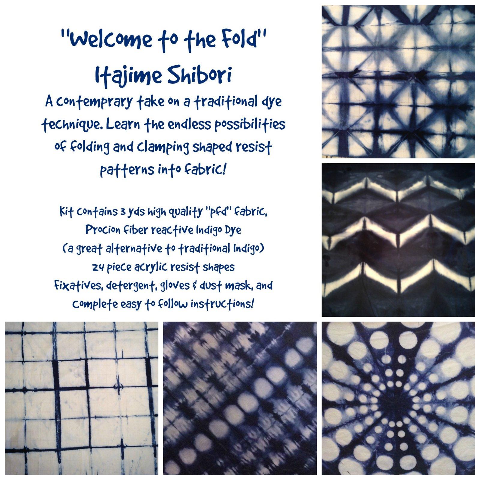 Welcome to the Fold - Exploring Itajime Shibori