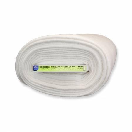 Natural Cotton Batting 100% 96 wide