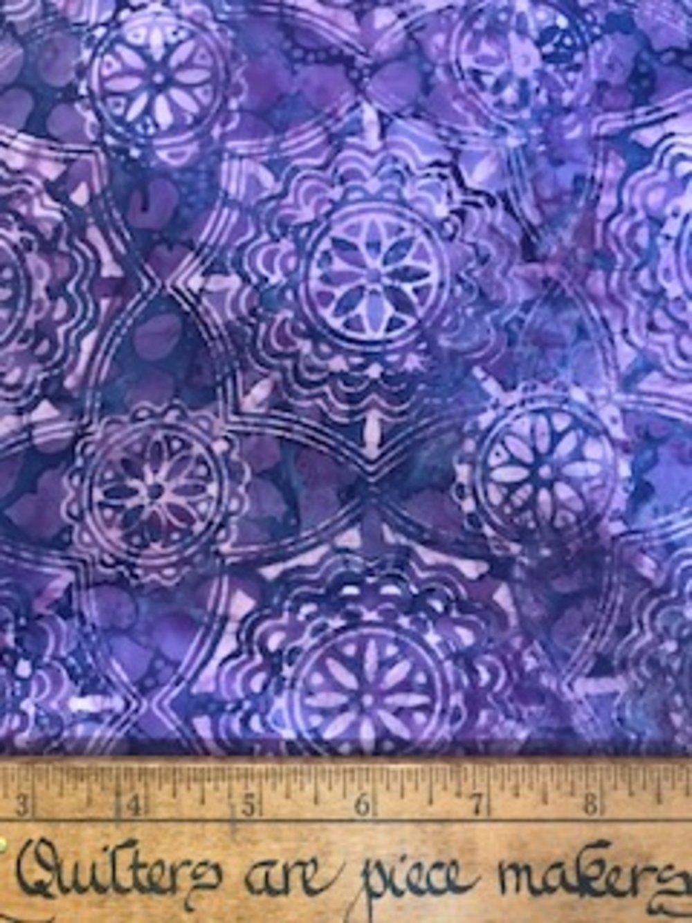 Boundless Batiks Purple