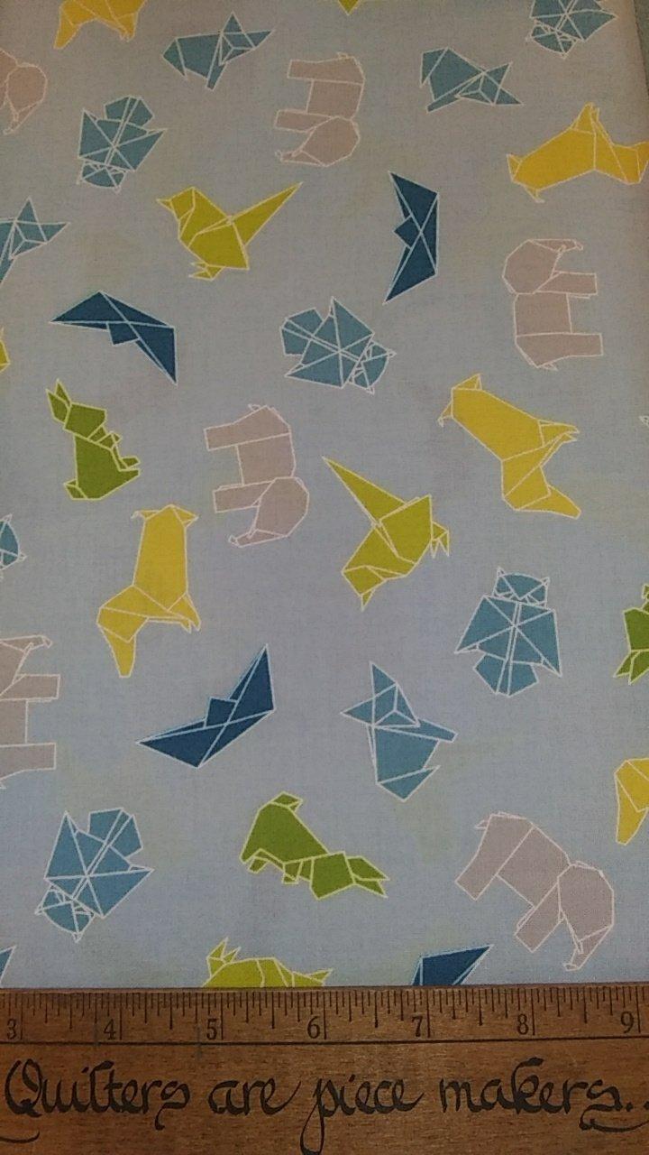 Mixed Bag Brushed - Origami Animals