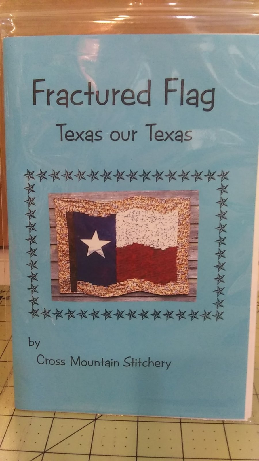 Fractured Flag Texas our Texas pattern
