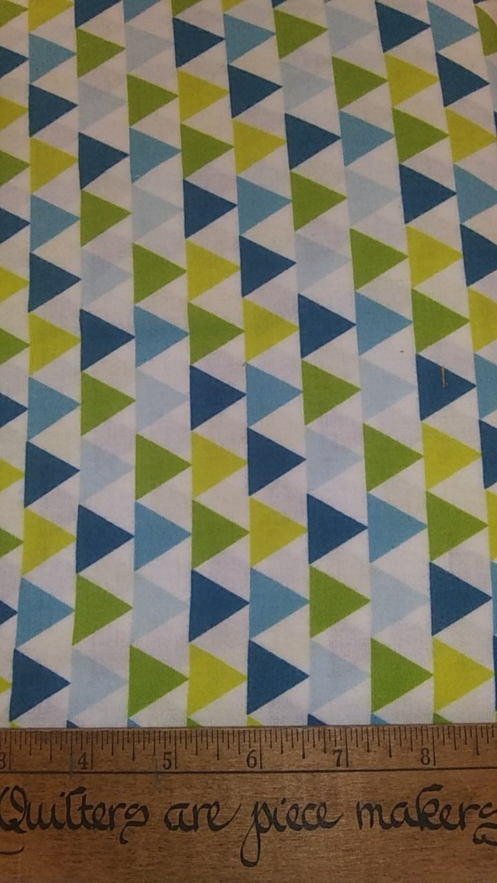 Mixed Bag Brushed - Triangles