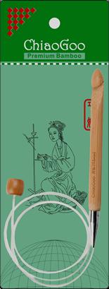 Chiao Goo 40 Flexible Tunesian Crochet Hook