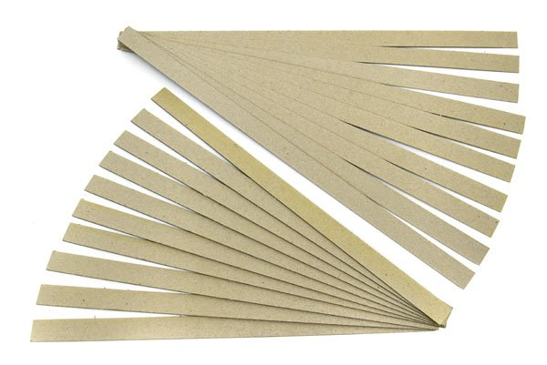 Card Board strips