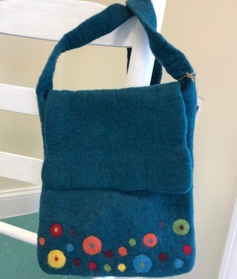Felted City Bag
