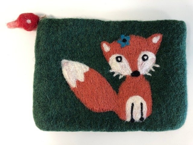 Felted Foxy Notion Bag