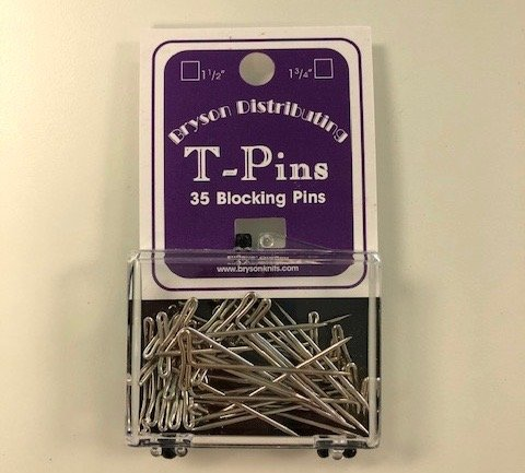 Bryson Steel plated T-Pins