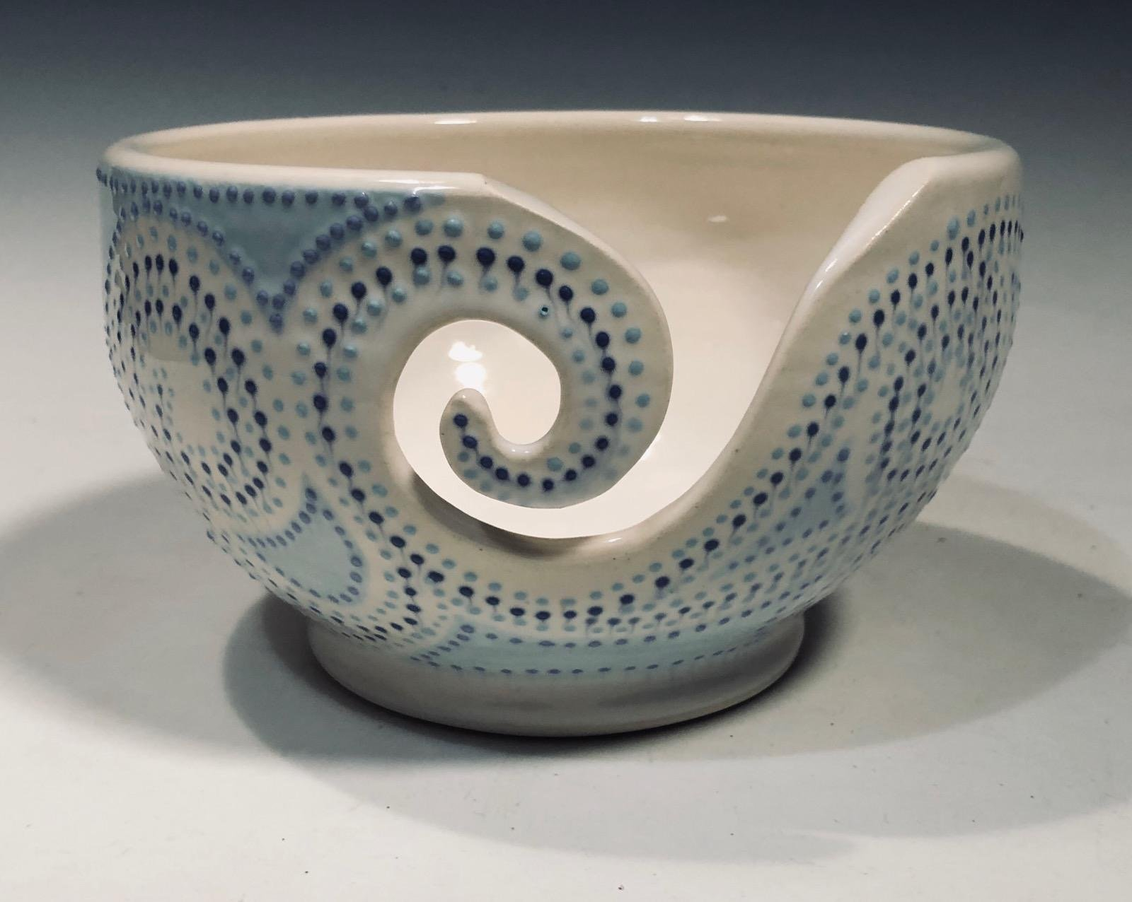 Hand-made Stoneware Yarn Bowls