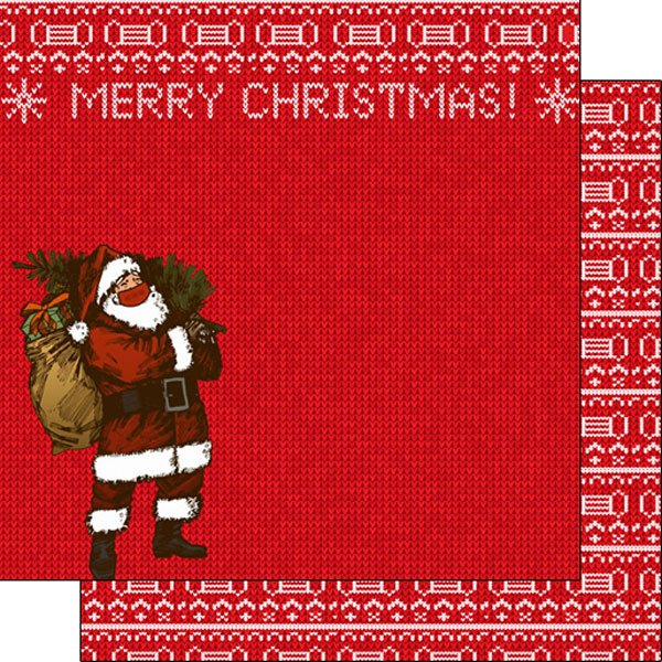 Scrapbook Customs - Merry Christmas/Masked Santa