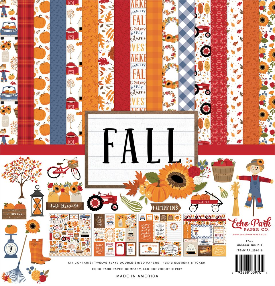Carta Bella - Fall 12x12 Collection Pack