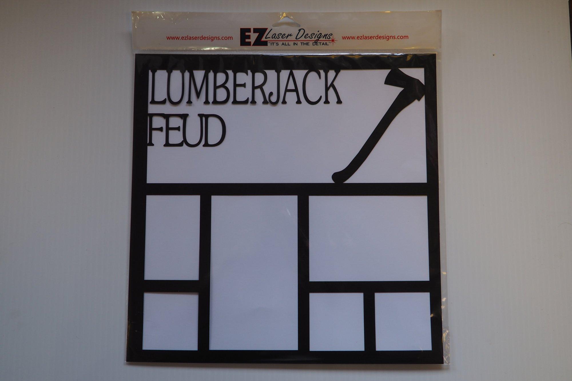 Lumberjack Feud 12x12 Overlay