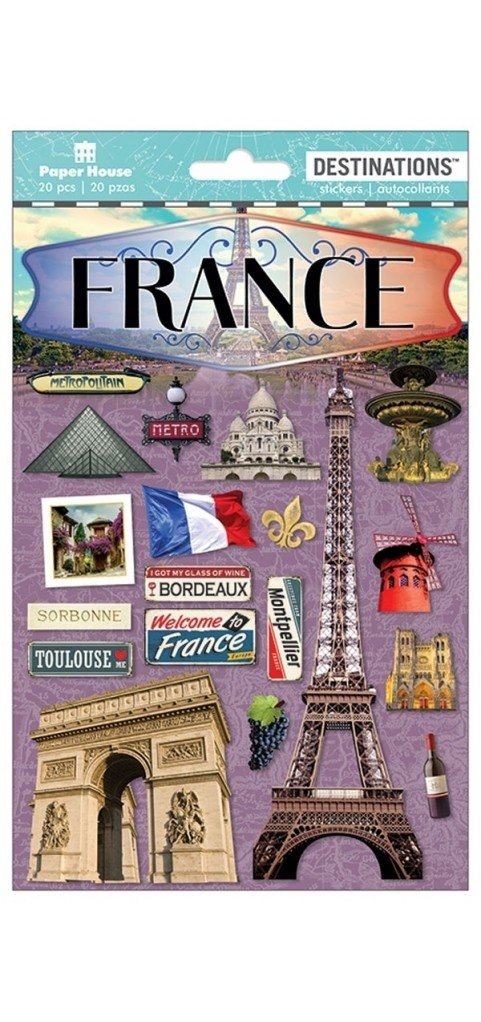 France 2D Stickers
