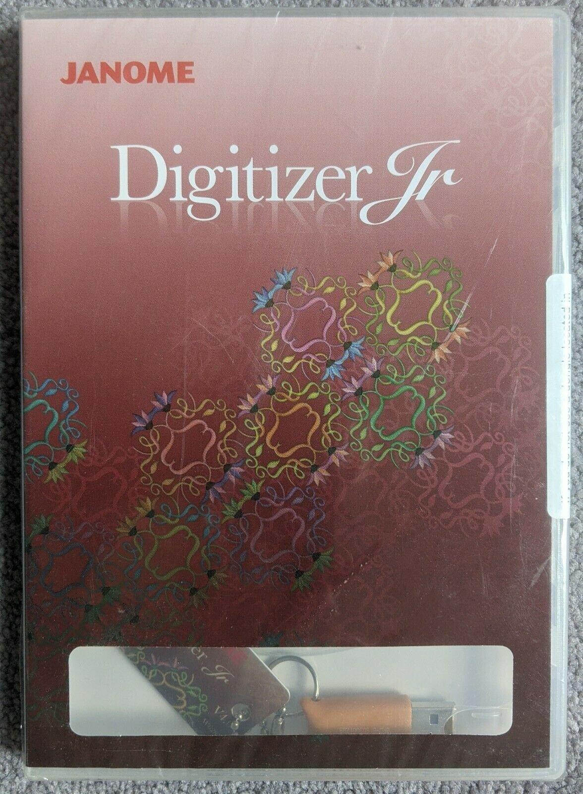 Janome Digitizer Jr. V3.0