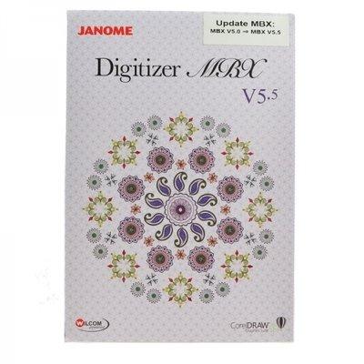 Janome Digitizer MBX Upgrade 5.0 to 5.5
