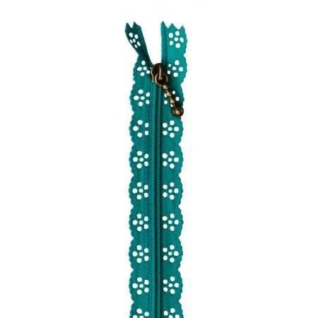 KDKB1206 Kimberbell Lace Zipper 14 Deep Sea Blue