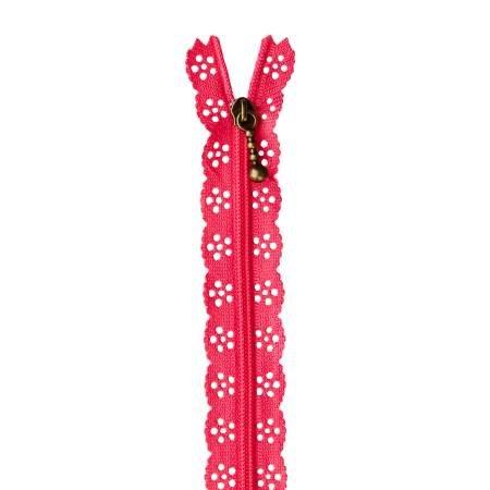 KDKB1209 Kimberbell Lace Zipper 14 Lipstick