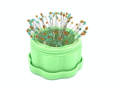Magnetic Pin Cup Lt Green