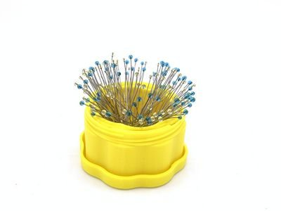 Magnetic Pin Cup Yellow