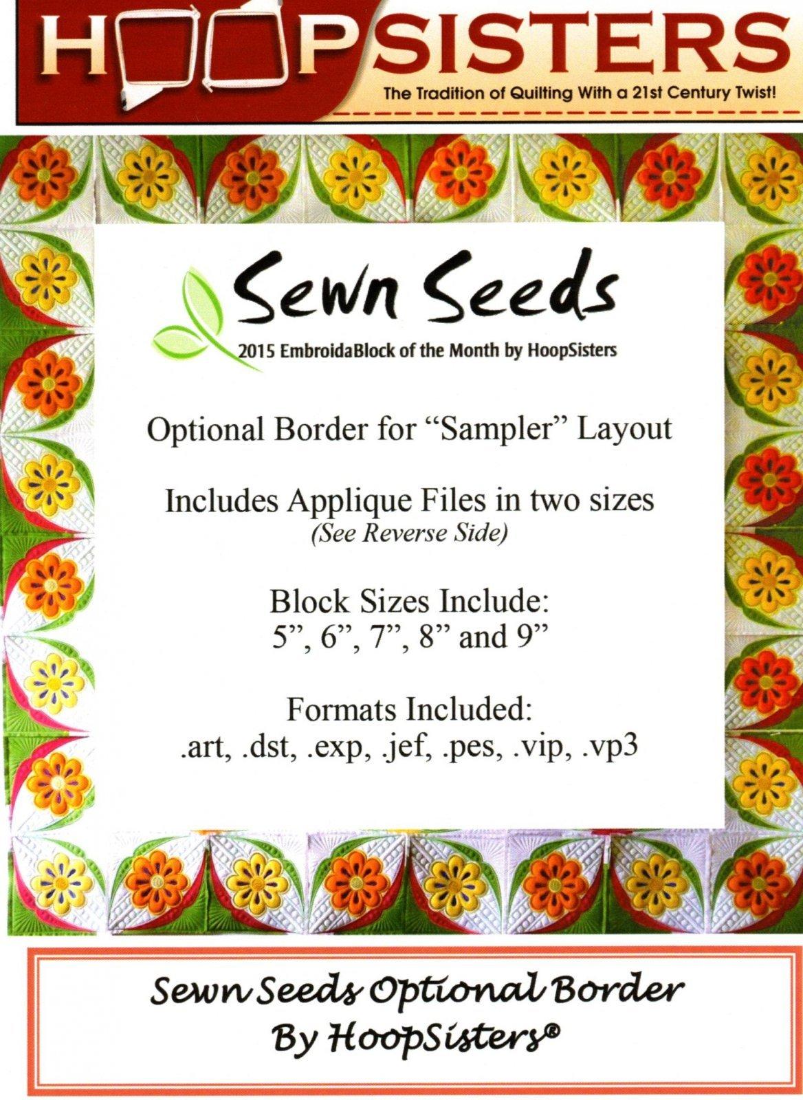 Sewn Seeds Optional Border
