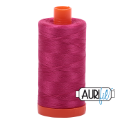 1100 Aurifil Cotton Thread Solid 50wt 1422yds Red Plum