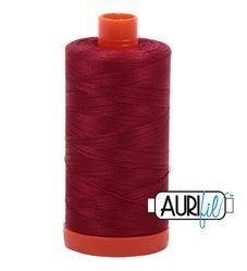 1103 Aurifil Cotton Thread Solid 50wt 1422yds Burgundy