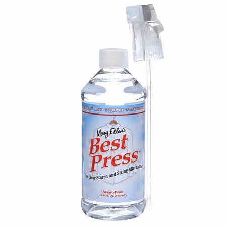 Best Press Spray Starch Scent Free 16oz 499ml