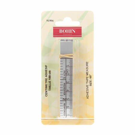 Bohin Adhesive Tape Measure 60inch