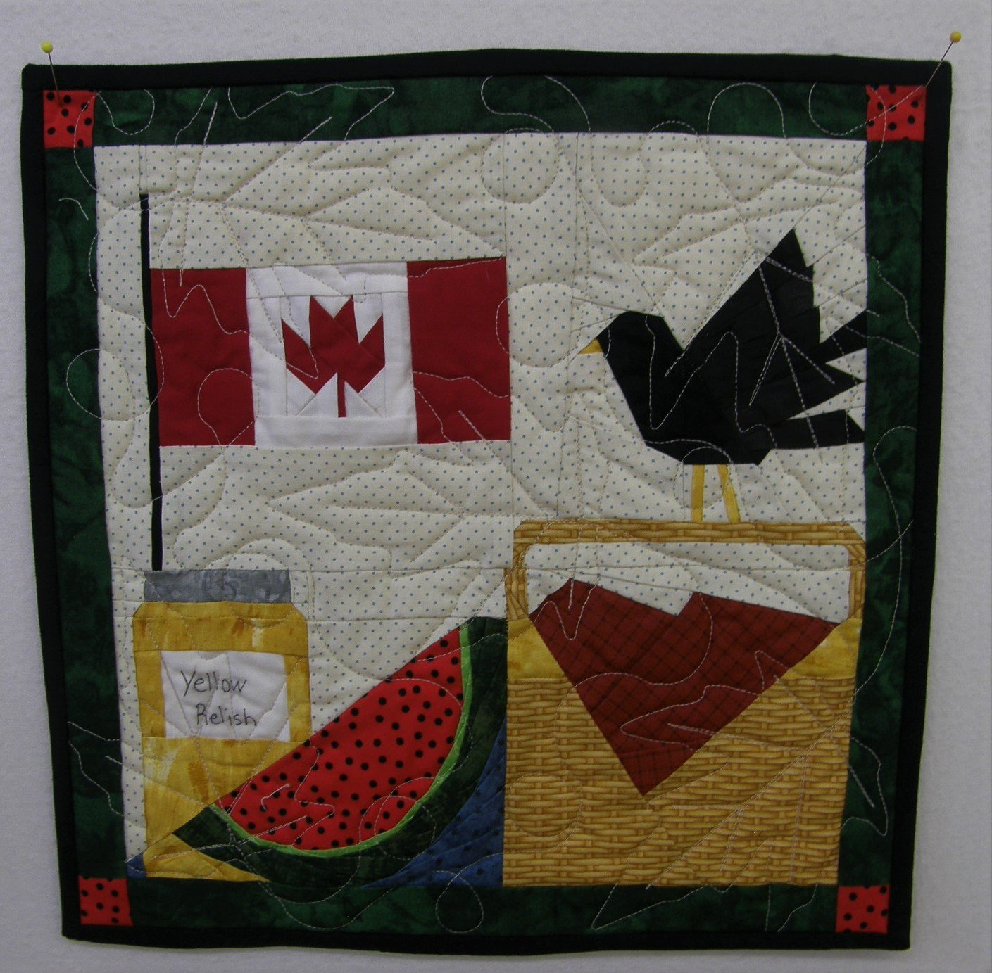 Canada Day Finished Wall hanging